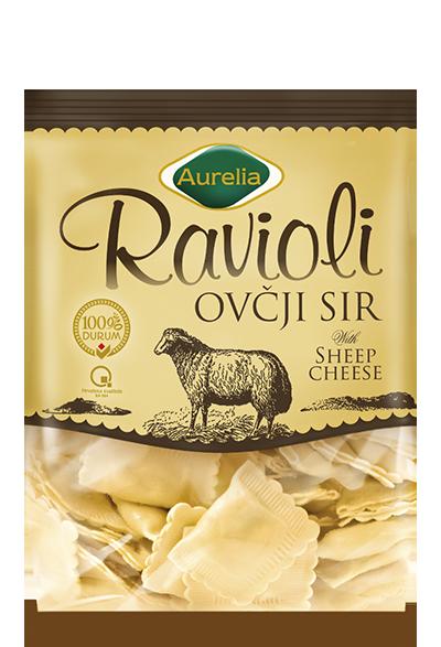 Ravioli ovčji sir