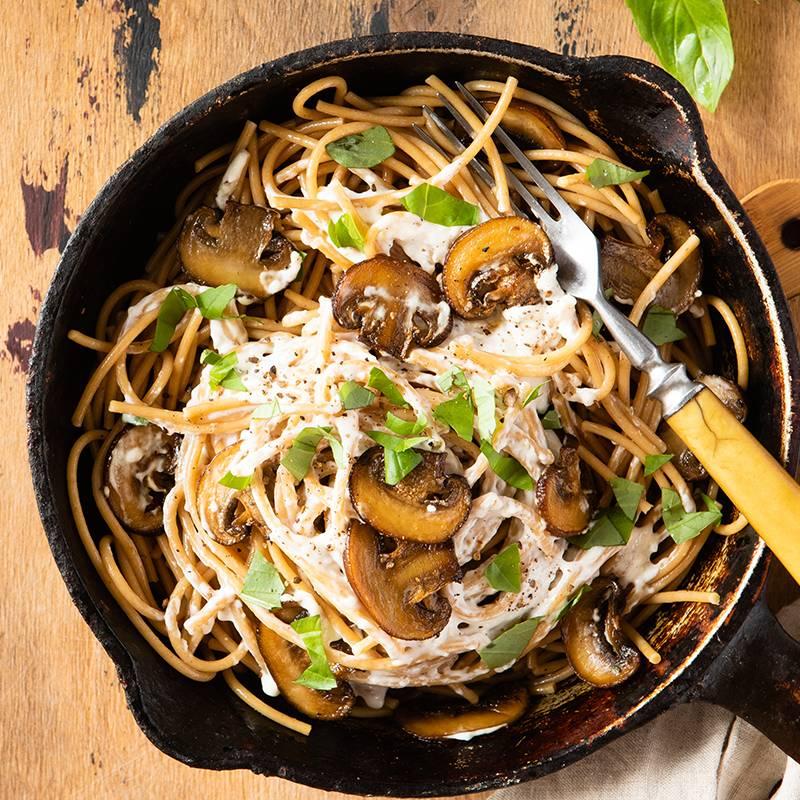 Špageti s gljivama