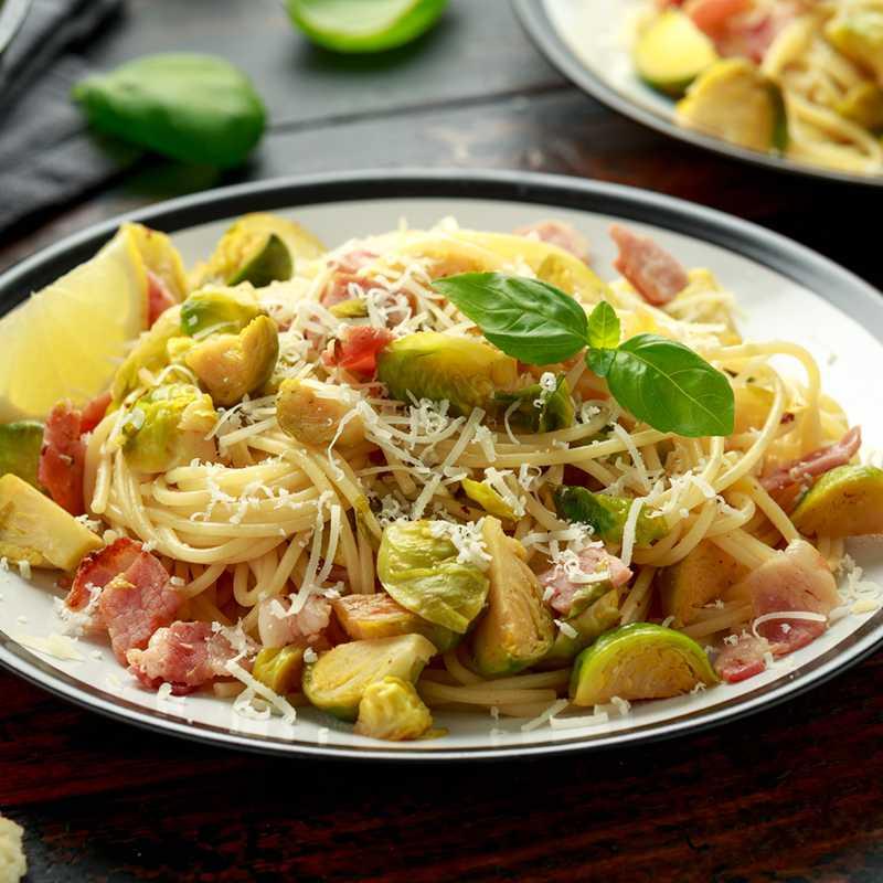 Špageti s prokulicama i gorgonzolom